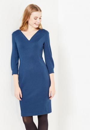 Платье Key. Цвет: синий