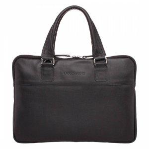 Деловая сумка для ноутбука Anson Black