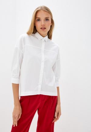 Рубашка Bikkembergs. Цвет: белый