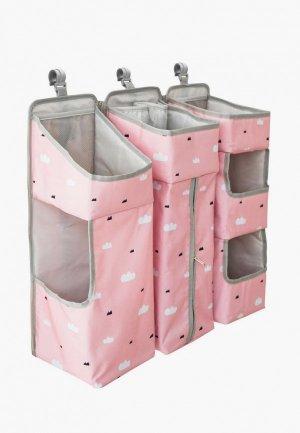 Органайзер для хранения Baby Nice. Цвет: розовый