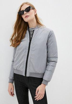 Куртка утепленная Love Moschino Reversible. Цвет: черный