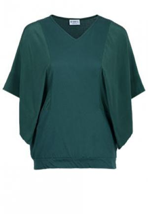 Блуза BARONI. Цвет: зеленый