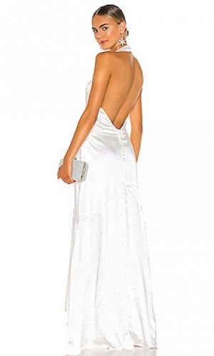 Платье verbena ELLIATT. Цвет: белый