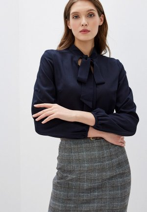 Блуза Maurini. Цвет: синий