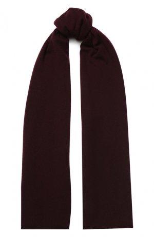 Кашемировый шарф Allude. Цвет: красный