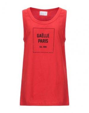 Майка GAëLLE Paris. Цвет: красный