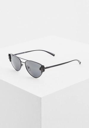 Очки солнцезащитные Versace VE2195B 100987. Цвет: черный