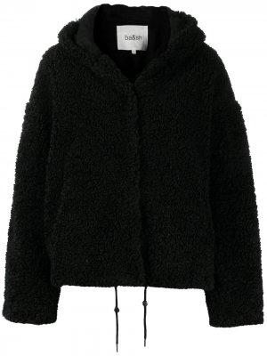 Пальто Yoyo с капюшоном Ba&Sh. Цвет: черный