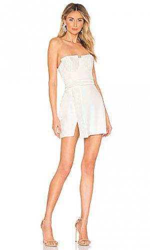 Мини платье fairmont Zhivago. Цвет: белый