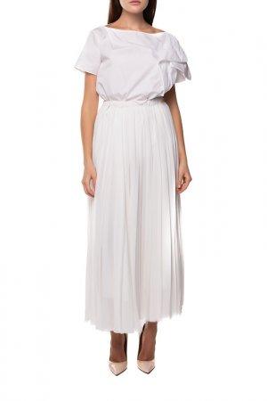 Блуза Andrea turchi. Цвет: белый