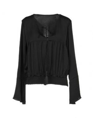 Блузка F**K PROJECT. Цвет: черный