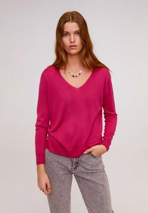Пуловер Mango - LAUREL. Цвет: розовый