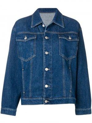 Джинсовая куртка с аппликацией Chiara Ferragni. Цвет: sm000 jeans