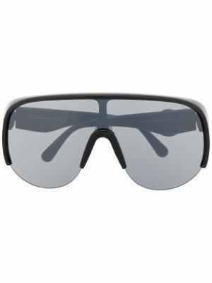 Солнцезащитные очки Phanthom Moncler Eyewear. Цвет: черный