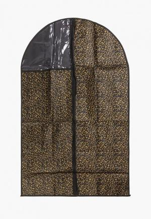 Чехол для одежды El Casa. Цвет: черный