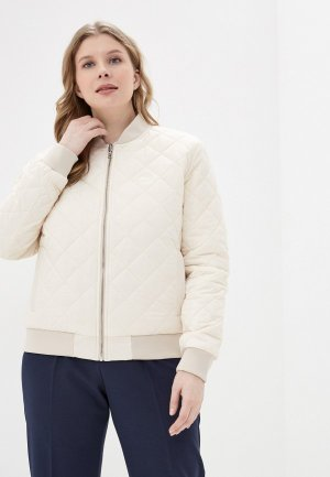 Куртка утепленная Lacoste. Цвет: розовый