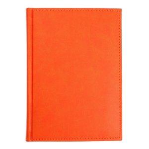 Ежедневник датированный а5 на 2022 год, 168 листов, обложка искусственная кожа vivella, оранжевый Calligrata