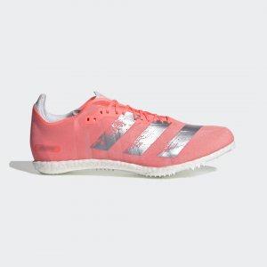 Шиповки для легкой атлетики adizero Avanti Performance adidas. Цвет: белый