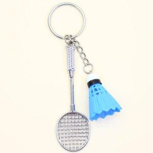 Брелок в форме ракетки для бадминтона SHEIN. Цвет: многоцветный