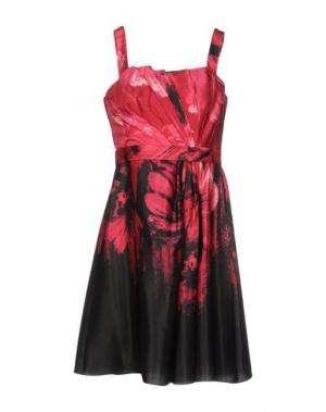 Платье до колена CARLO PIGNATELLI. Цвет: пурпурный