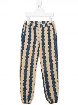 Спортивные брюки Columns Bobo Choses. Цвет: синий
