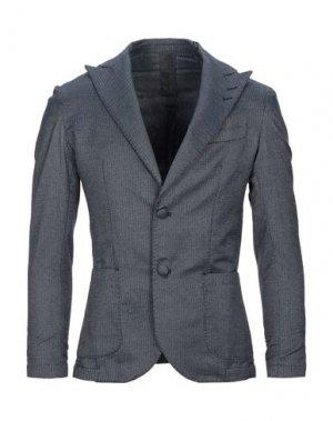 Пиджак I'M BRIAN. Цвет: темно-синий