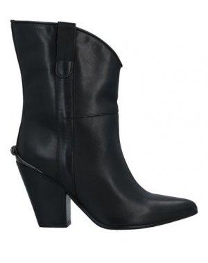 Полусапоги и высокие ботинки LUNA. Цвет: черный