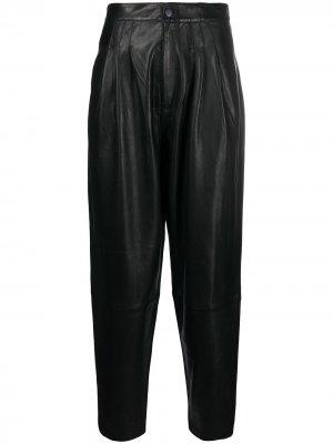 Зауженные брюки с завышенной талией J Brand. Цвет: черный