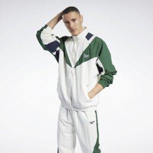 Спортивная куртка Classics Twin Vector Reebok. Цвет: chalk