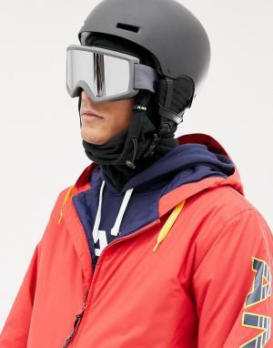 Серые защитные очки горнолыжника со сменными стеклами Helix 2 Sonar Anon. Цвет: серый