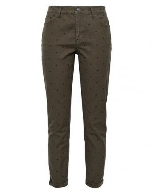 Повседневные брюки CURRENT/ELLIOTT. Цвет: зеленый-милитари
