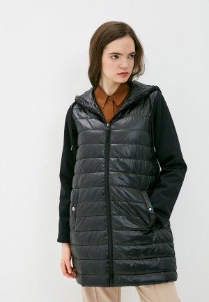 Куртка утепленная Снежная Королева GSS1OC04. Цвет: черный