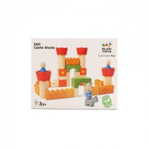 Игрушка Конструктор замок Plan Toys. Цвет: разноцветный