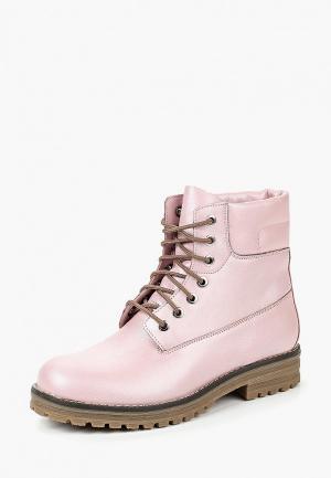 Ботинки Brulloff LORI. Цвет: розовый