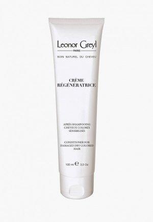 Кондиционер для волос Leonor Greyl Creme Regeneratrice, 100 мл. Цвет: прозрачный