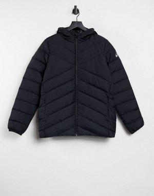 Черная куртка Performance-Черный цвет Asics