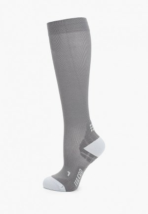 Компрессионные гольфы CEP Smart Carbon UltraThin Compression Knee Socks C1UU. Цвет: серый