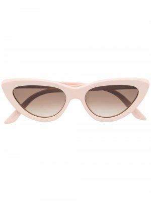 Солнцезащитные очки Firi Christian Roth. Цвет: розовый
