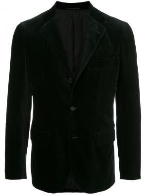 Факурный пиджак United Arrows. Цвет: чёрный