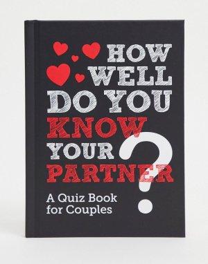 Книга-викторина How Well Do You Know Your Partner (рус. «Как хорошо ты знаешь своего партнера»)-Многоцветный Allsorted