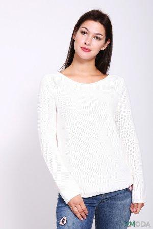 Пуловер Oui. Цвет: белый