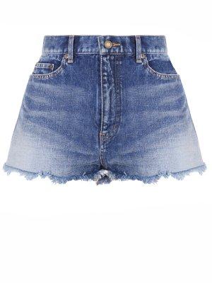 Шорты джинсовые SAINT LAURENT