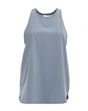 Майка DKNY. Цвет: свинцово-серый