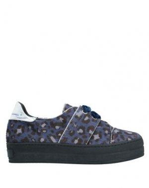 Низкие кеды и кроссовки SGN GIANCARLO PAOLI. Цвет: синий