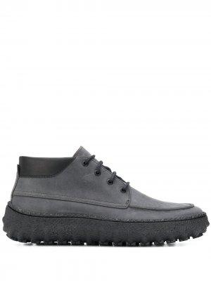 Ботинки Ground на шнуровке Camper. Цвет: серый