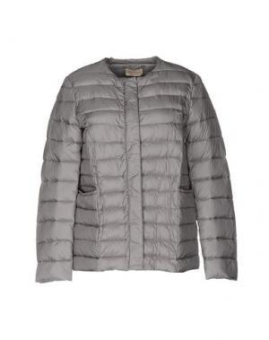 Куртка MOMONÍ. Цвет: серый