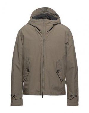 Куртка BARACUTA. Цвет: хаки