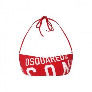 Бра-бандо Dsquared2. Цвет: красный