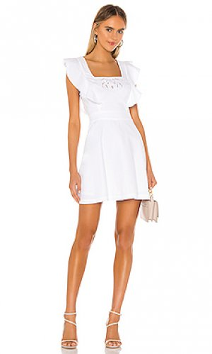 Мини платье BCBGeneration. Цвет: белый