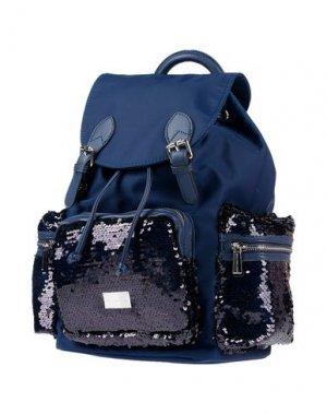 Рюкзаки и сумки на пояс FORNARINA. Цвет: темно-синий